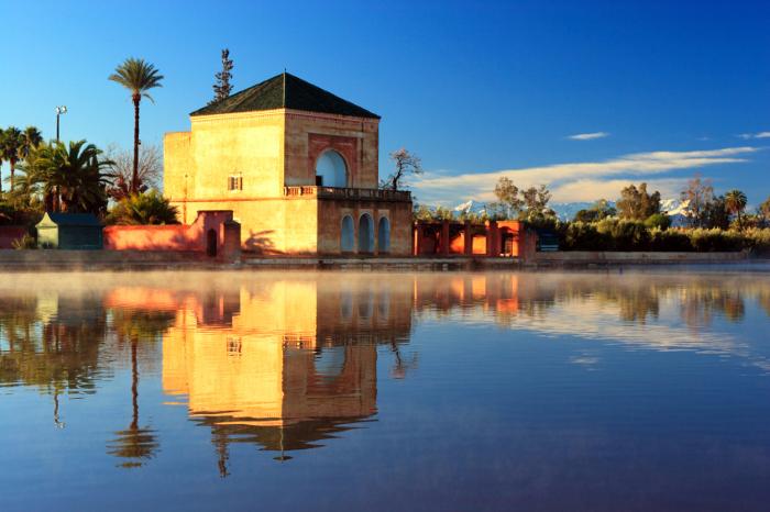 Marrakech Menara garden