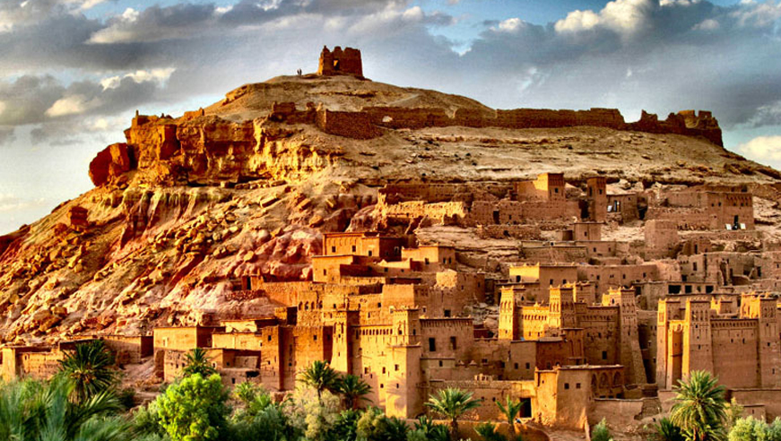 Ait Ben Haddou presents a UNESCO World Heritage magnificent fortified kasbahs