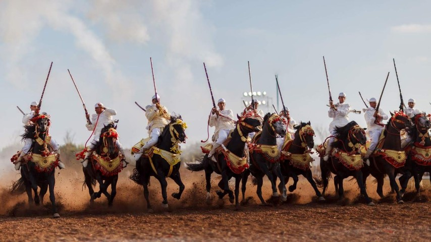 Morocco offers many opportunities to attend cultural and artistic events