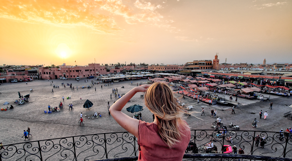 Marrakech in the top 10 of the world's best destinations by TripAdvisor
