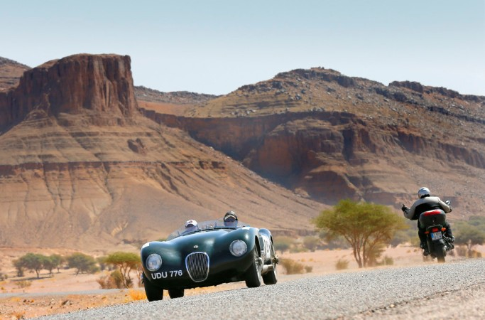 Morocco rally is a competition that combines elegance and sportiness