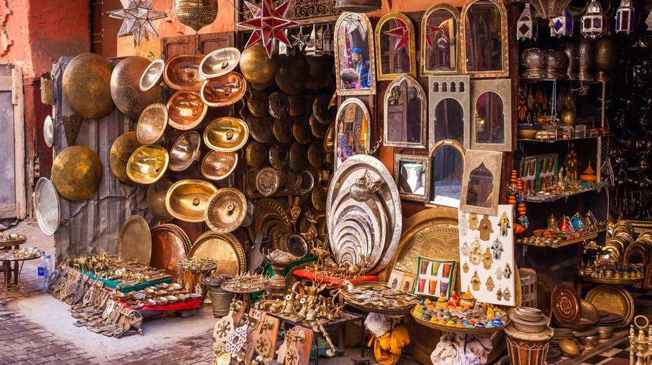 Handmade crafts and artisanal cooperatives in the southern towns and regions of Morocco
